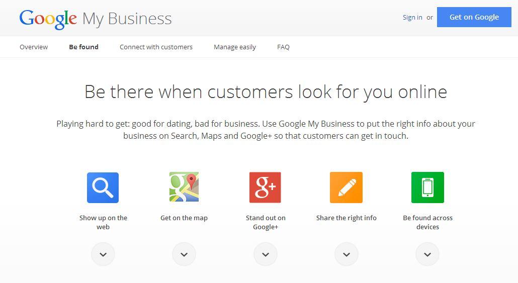 Découvrez Google My Business