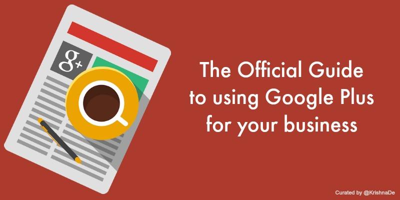 Synthèse du guide Google+ pour les entreprises