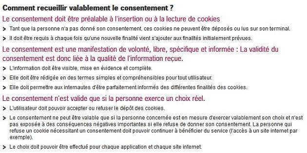 Cookies et CNIL: vos obligations