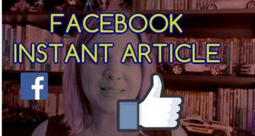 Facebook Instant ARTICLES une révolution ?