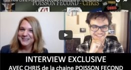 Chris POISSON FECOND Youtubeur et Entrepreneur : l'interview
