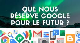 Que nous réserve Google pour le futur ?