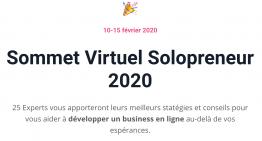 SVS 2020 – Sommet Virtuel SoloPreneur 2020 avec Ling-en Hsia