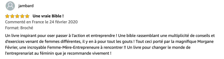 Amazon_fr_-_Entreprendre_au_féminin__Interviews_-_Conseils_-_Exercices_pratiques_-_Morgane_Février_-_Livres-2