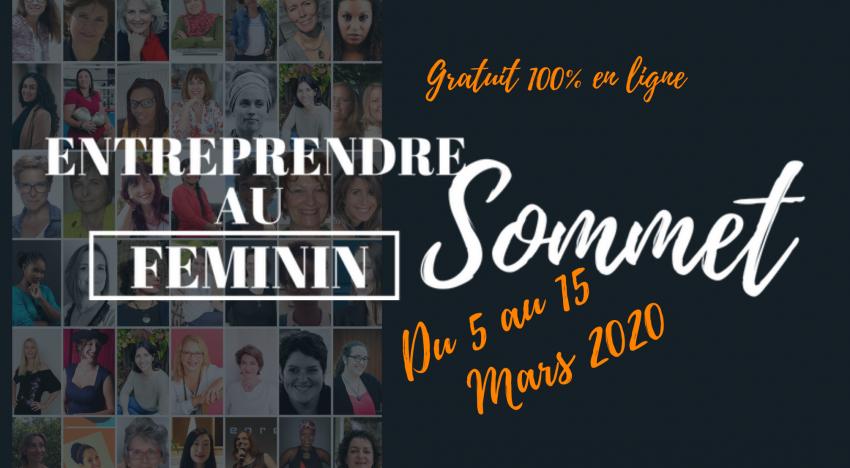 Entreprendre au Féminin 2020 : Le Sommet en ligne