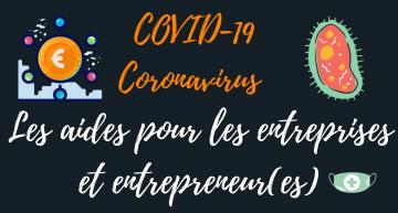 COVID-19 : Quelles sont les aides pour les entrepreneurs misent en place par le gouvernement ?